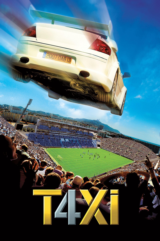 Taxi 4 (2007) Main Poster