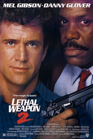 Lethal Weapon 2 (1989) Main Poster