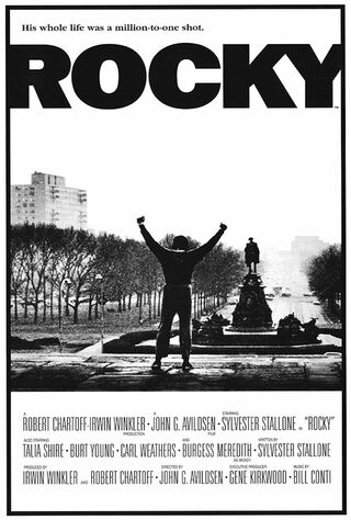 Rocky (1976) Main Poster