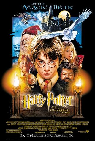 Harry Potter and the Sorcerer's Stone (2001) Main Poster