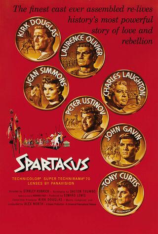 Spartacus (1960) Main Poster