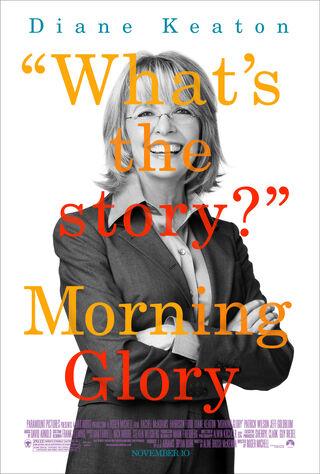 Morning Glory (2010) Main Poster