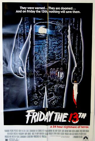 Friday The 13th (1980) Main Poster