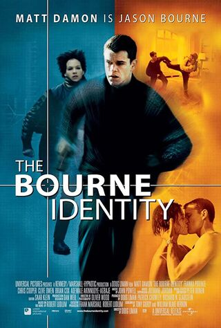 The Bourne Identity (2002) Main Poster