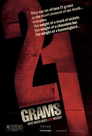 21 Grams (2004) Main Poster