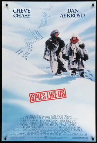 Spies Like Us (1985) Main Poster