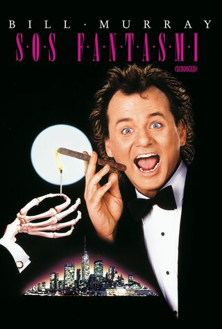 Scrooged (1988) Main Poster