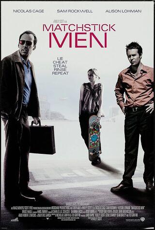 Matchstick Men (2003) Main Poster