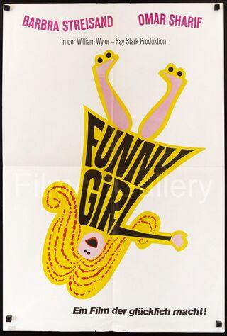 Funny Girl (1968) Main Poster