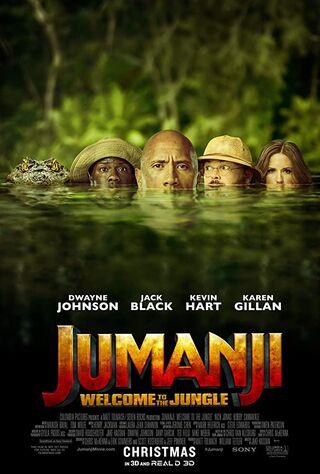 Jumanji: Welcome to the Jungle (2017) Main Poster