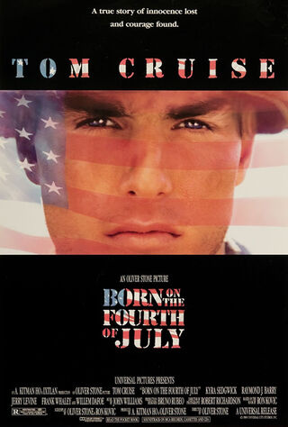 Born On The Fourth Of July (1990) Main Poster