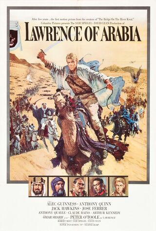 Lawrence Of Arabia (1962) Main Poster