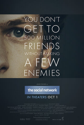 The Social Network (2010) Main Poster