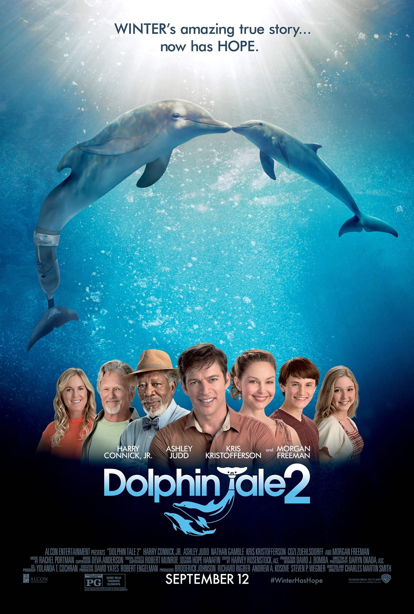 Dolphin Tale 2 (2014) Poster #2