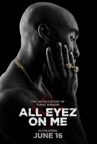 All Eyez On Me (2017) Main Poster
