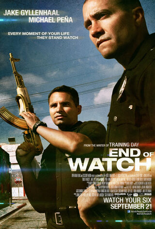 End Of Watch (2012) Main Poster