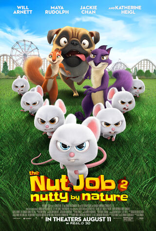 The Nut Job 2: Nutty By Nature (2017) Main Poster