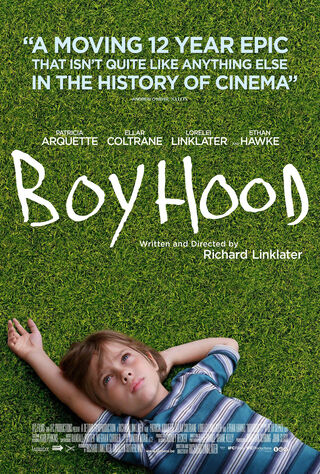 Boyhood (2014) Main Poster