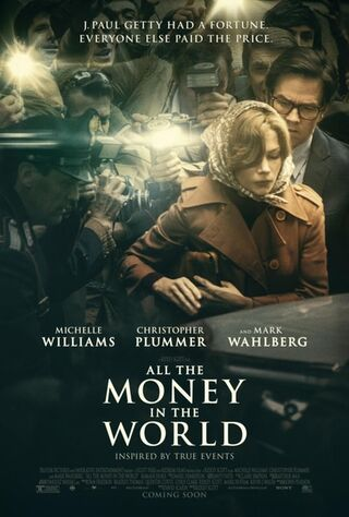 All The Money In The World (2017) Main Poster
