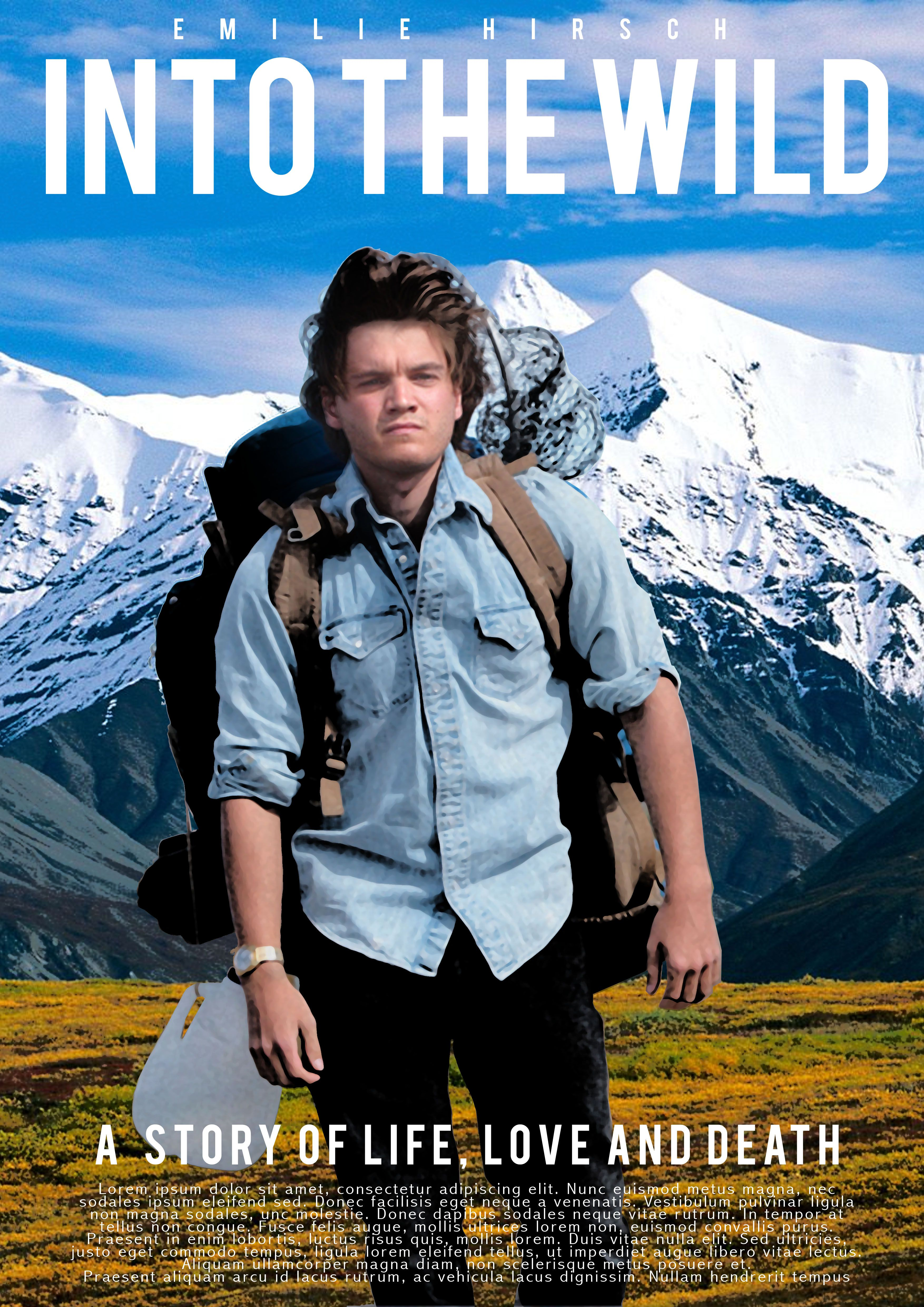 Into The Wild (2007) Main Poster