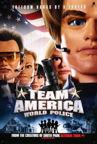 Team America: World Police (2004) Main Poster