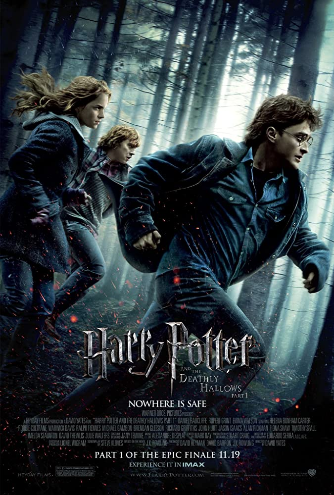 Harry Potter and the Deathly Hallows: Part 1 (2010) Main Poster
