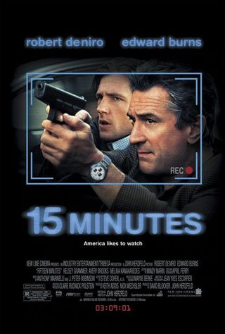 15 Minutes (2001) Main Poster