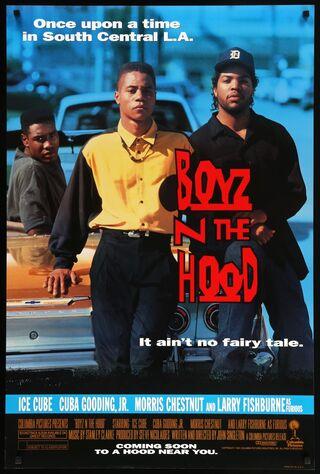 Boyz N The Hood (1991) Main Poster
