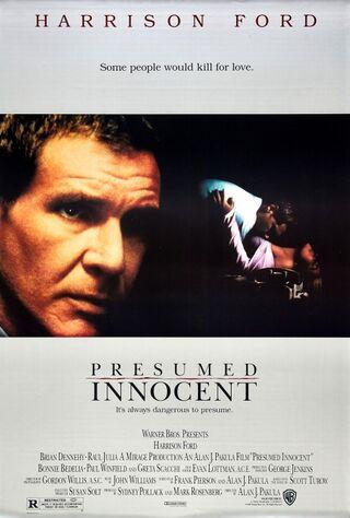 Presumed Innocent (1990) Main Poster