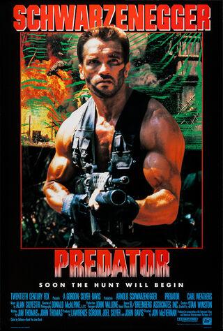 Predator (1987) Main Poster