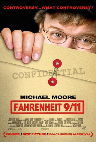 Fahrenheit 9/11 (2004) Main Poster