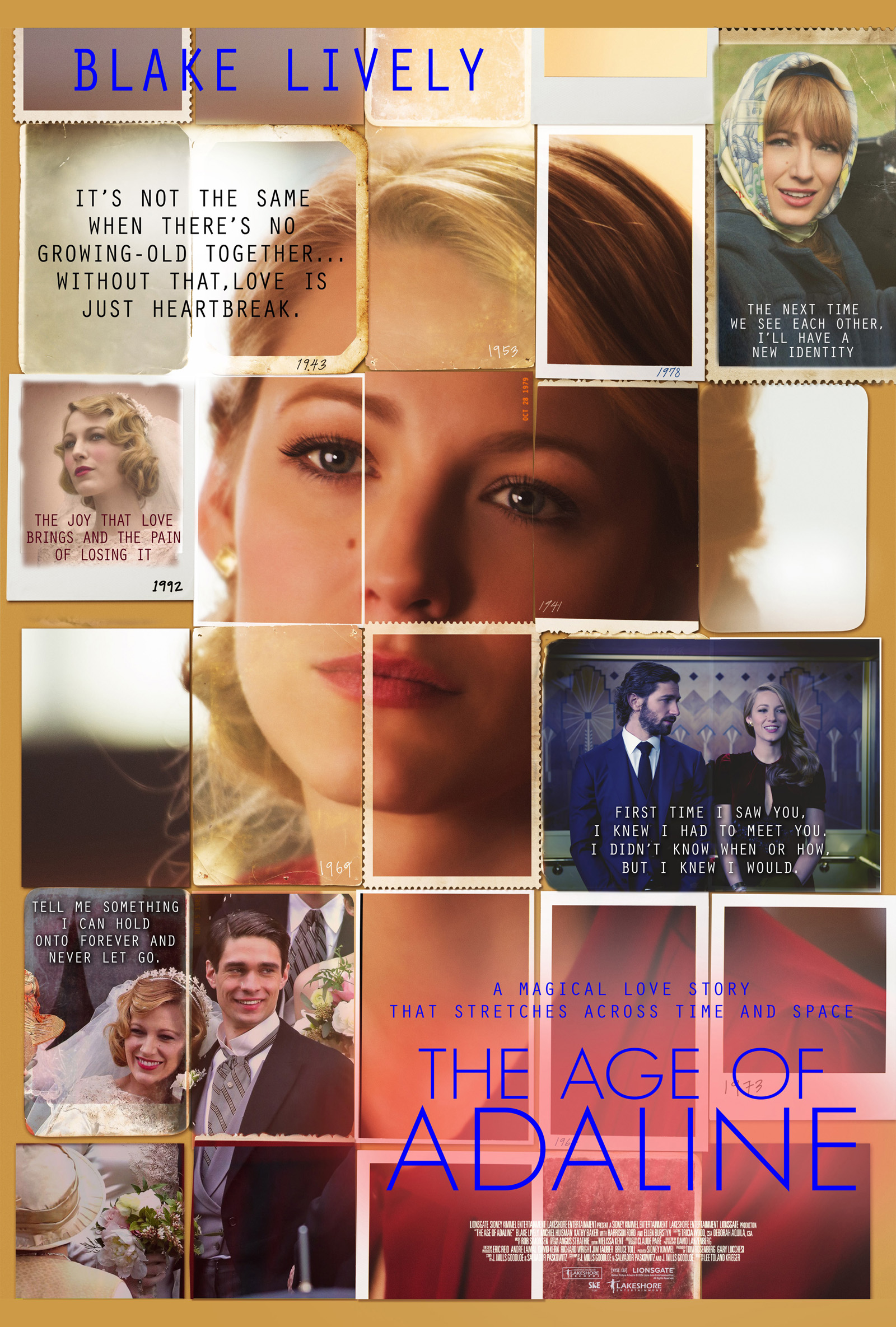 The Age Of Adaline (2015) Poster #2