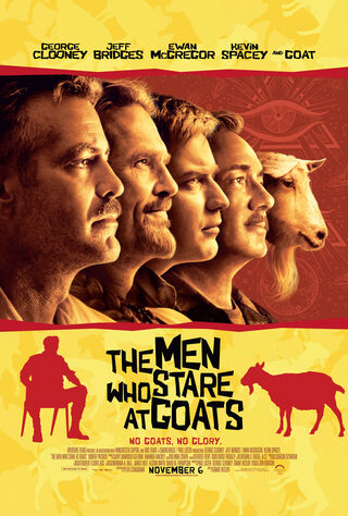 The Men Who Stare At Goats (2009) Main Poster
