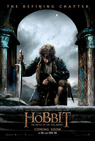The Hobbit: The Battle of the Five Armies (2014) Main Poster