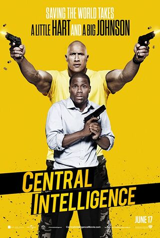 Central Intelligence (2016) Main Poster