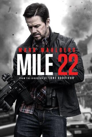 Mile 22 (2018) Main Poster