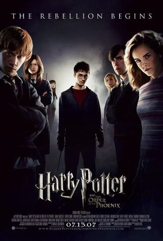 Harry Potter and the Order of the Phoenix (2007) Main Poster