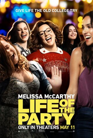 Life Of The Party (2018) Main Poster