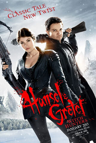 Hansel & Gretel: Witch Hunters (2013) Main Poster