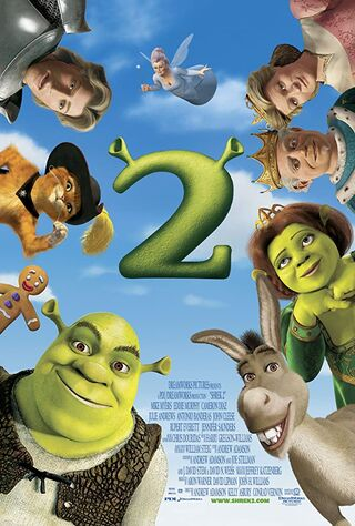 Shrek 2 (2004) Main Poster