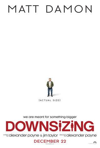 Downsizing (2017) Main Poster