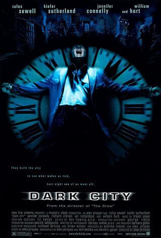 Dark City (1998) Main Poster