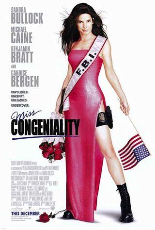 Miss Congeniality (2000) Main Poster