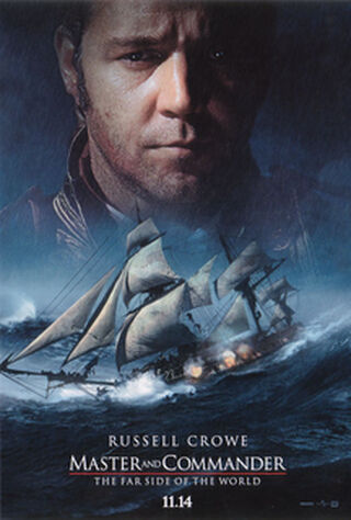 Master And Commander: The Far Side Of The World (2003) Main Poster