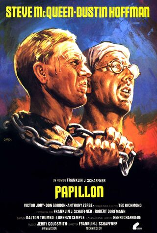 Papillon (1973) Main Poster