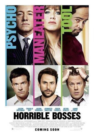 Horrible Bosses (2011) Main Poster