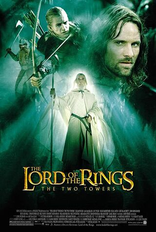 The Lord of the Rings: The Two Towers (2002) Main Poster