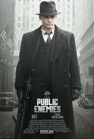 Public Enemies (2009) Main Poster