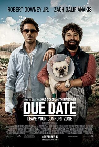 Due Date (2010) Main Poster