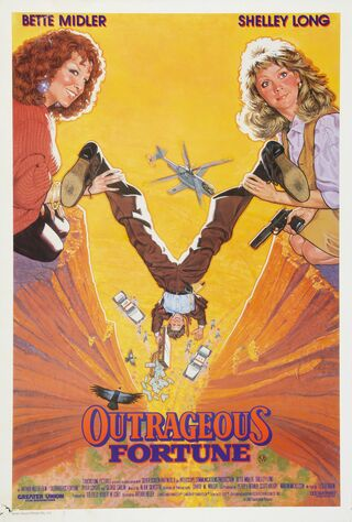 Outrageous Fortune (1987) Main Poster